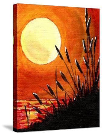 Bayou Moon-Cindy Thornton-Stretched Canvas Print