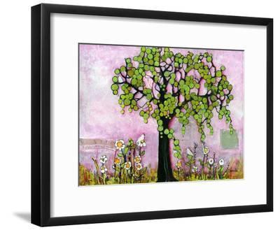 Pink Dreams Print-Blenda Tyvoll-Framed Art Print