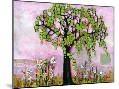 Pink Dreams Print-Blenda Tyvoll-Mounted Art Print