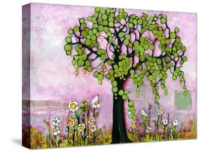 Pink Dreams Print-Blenda Tyvoll-Stretched Canvas Print