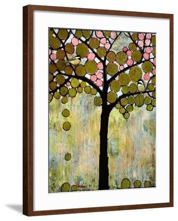 Print Art Chickadee Tree-Blenda Tyvoll-Framed Art Print