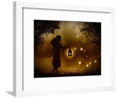 A Chance Encounter-Julie Fain-Framed Art Print