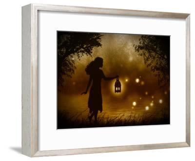 A Chance Encounter-Julie Fain-Framed Premium Giclee Print