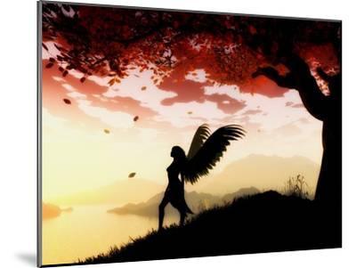 Angel at Dawn-Julie Fain-Mounted Art Print