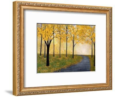 Golden Fall-Herb Dickinson-Framed Art Print