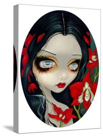 Blood Orchid-Jasmine Becket-Griffith-Stretched Canvas Print