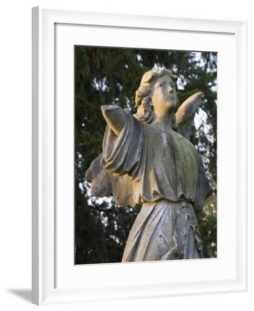 Stone Ahgel-Charles Bowman-Framed Photographic Print
