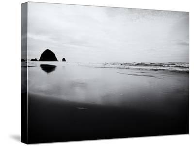 Cannon Beach-John Gusky-Stretched Canvas Print