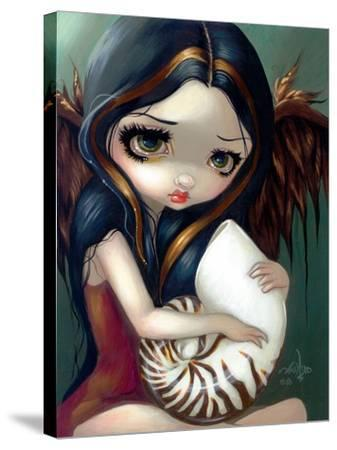 Nautilus Angel-Jasmine Becket-Griffith-Stretched Canvas Print