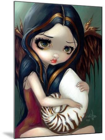 Nautilus Angel-Jasmine Becket-Griffith-Mounted Art Print
