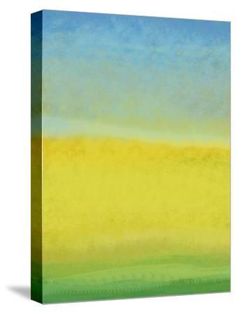 The Land In Between-Jan Weiss-Stretched Canvas Print