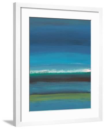 Night Coast-Jan Weiss-Framed Art Print