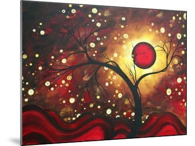 Abstract Landscape Glowing Orb-Megan Aroon Duncanson-Mounted Art Print