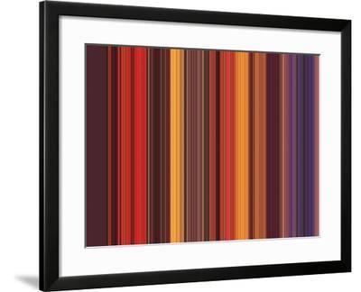 A R T Wave 63-Ricki Mountain-Framed Art Print