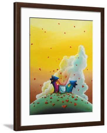 Let Love Rain-Cindy Thornton-Framed Art Print