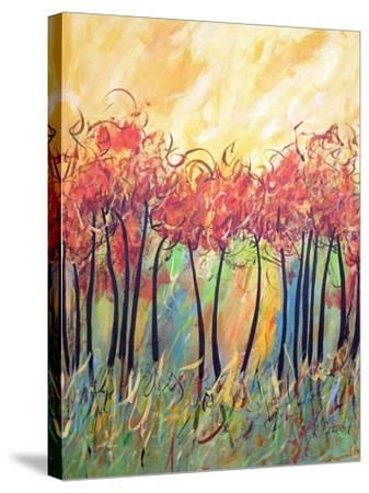 Let The Land Produce Vegetation Genesis 1-Ruth Palmer-Stretched Canvas Print