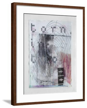 Torn In Two-Enrico Varrasso-Framed Art Print