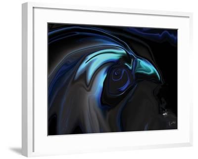 The Nighthawk-Rabi Khan-Framed Art Print