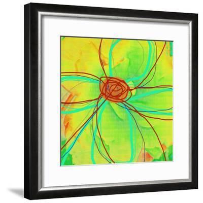 Big Pop Floral II-Ricki Mountain-Framed Art Print