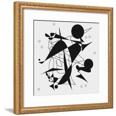 Dropping The Ball-Ruth Palmer-Framed Art Print