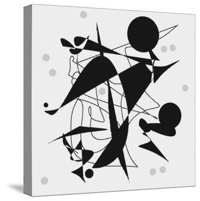 Dropping The Ball-Ruth Palmer-Stretched Canvas Print