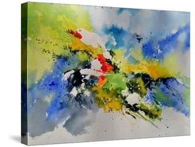 Abstract Watercolor 410141-Pol Ledent-Stretched Canvas Print