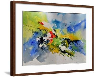 Abstract Watercolor 410141-Pol Ledent-Framed Art Print