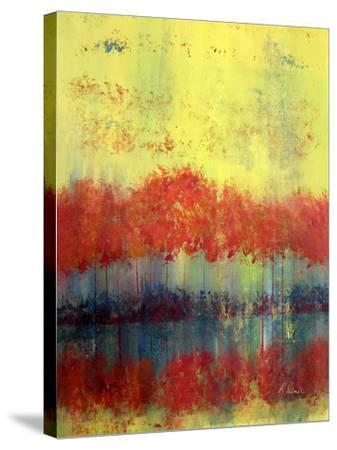 Autumn Bleed-Ruth Palmer-Stretched Canvas Print