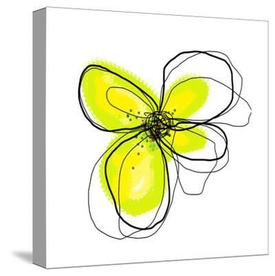 Yellow Petals 4-Jan Weiss-Stretched Canvas Print