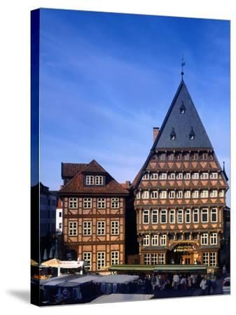 Germany Hildesheim-Charles Bowman-Stretched Canvas Print