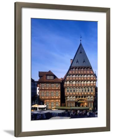 Germany Hildesheim-Charles Bowman-Framed Photographic Print