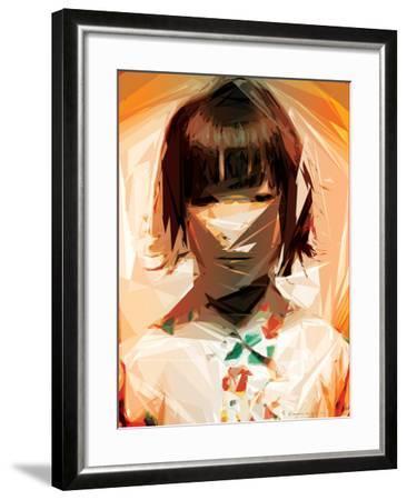 Asian Woman-Enrico Varrasso-Framed Art Print