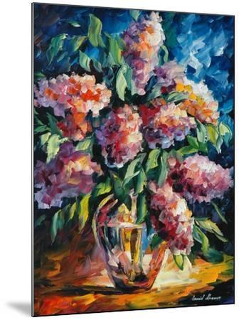 Flowers-Leonid Afremov-Mounted Art Print