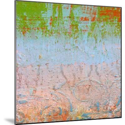 Rainbow Sherbet Abstract-Ricki Mountain-Mounted Art Print
