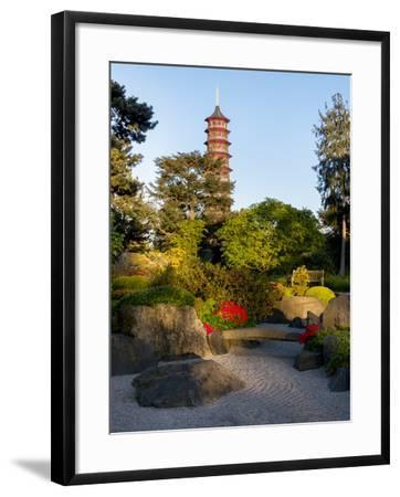 Kew Gardens Pagoda-Charles Bowman-Framed Photographic Print