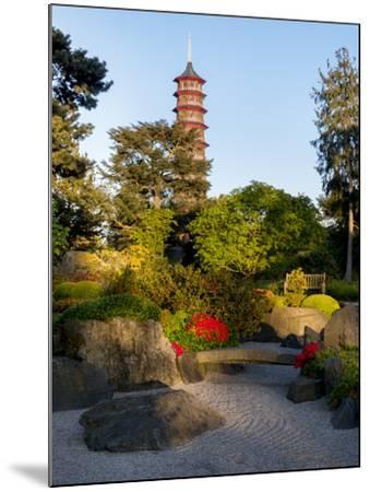 Kew Gardens Pagoda-Charles Bowman-Mounted Photographic Print