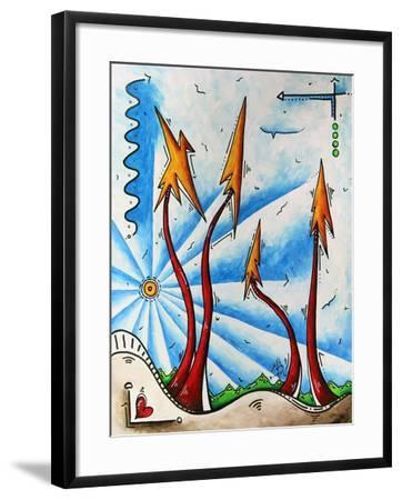 Abstract Landscape Fun PoP Art Tree-Megan Aroon Duncanson-Framed Art Print