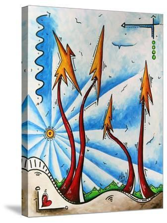 Abstract Landscape Fun PoP Art Tree-Megan Aroon Duncanson-Stretched Canvas Print