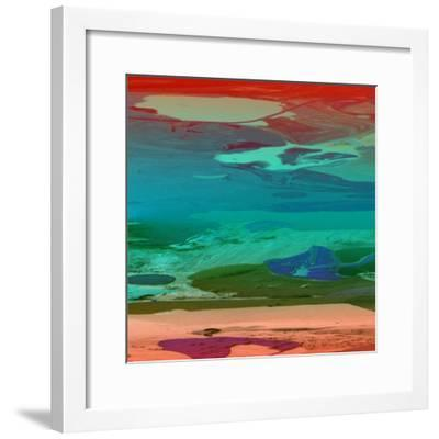 Red Sky At Night-Ricki Mountain-Framed Art Print