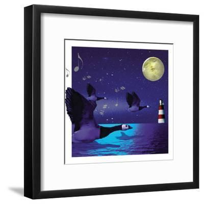 Geese Fly Home-Nancy Tillman-Framed Art Print