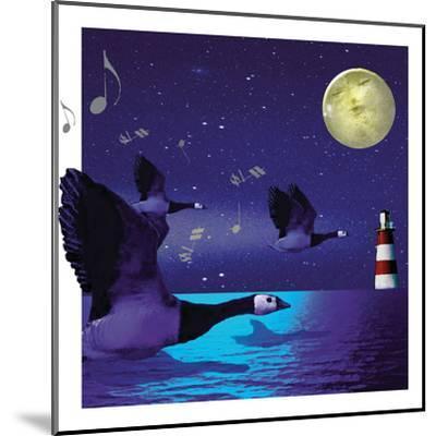 Geese Fly Home-Nancy Tillman-Mounted Art Print