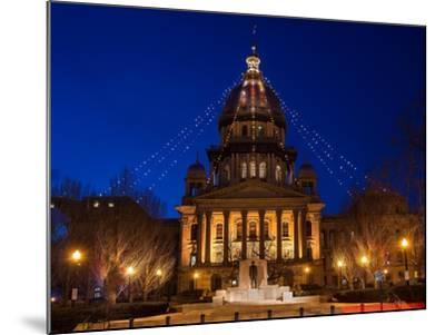 Illinois State Capitol-Steve Gadomski-Mounted Photographic Print
