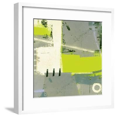 Abstract Big Break-Ricki Mountain-Framed Art Print