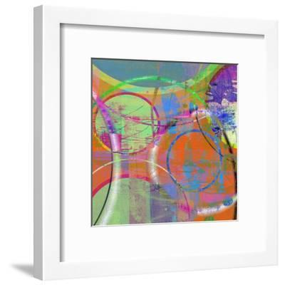 Circus Of The Sun I-Ricki Mountain-Framed Art Print