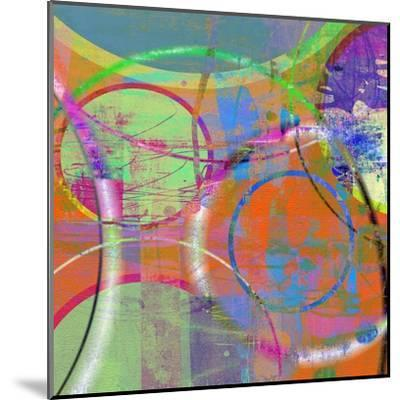 Circus Of The Sun I-Ricki Mountain-Mounted Art Print