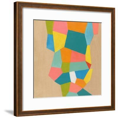 Shapes at a Cellular Level 1-Jan Weiss-Framed Art Print