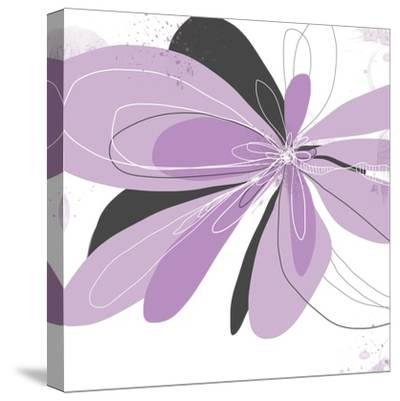 Orchid Undone - One-Jan Weiss-Stretched Canvas Print
