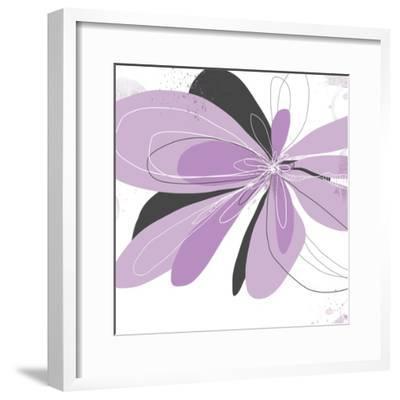 Orchid Undone - One-Jan Weiss-Framed Art Print