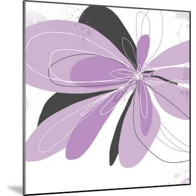 Orchid Undone - One-Jan Weiss-Mounted Art Print