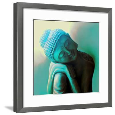 Tranquillity-Christine Ganz-Framed Premium Giclee Print